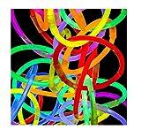 8 LumiStick Brand Glowsticks Glow Stick Bracelets Mixed Colors (Tube of 100) by Lumistick
