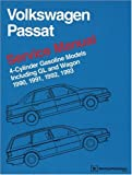 Volkswagen Passat Service Manual 1990, 1991, 1992, 1993: 4-Cylinder Gasoline Models Including GL and Wagon