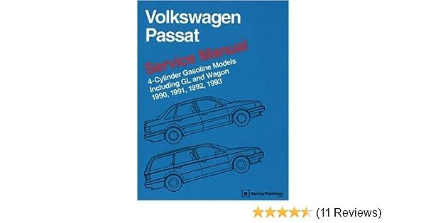 volkswagen passat service manual 1990 1991 1992 1993 4 cylinder rh amazon com 1991 Passat 1992 BMW 535I
