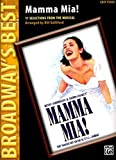 Mamma Mia! (Broadway's Best): Selections from the Musical (Easy Piano) (2007-12-01)