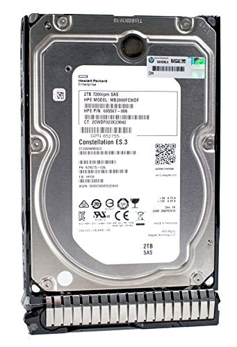 Hdd Sas 6g Lff - HP 652757-B21 - HP 2TB 7.2K SAS 6G LFF 3.5 MDL HARD DRIVE