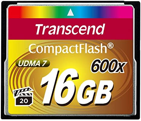 Transcend Compact Flash 1000x Udma 7 Cf 16 Gb 16 G G 16 Gb Garantía De Por Vida Nueva
