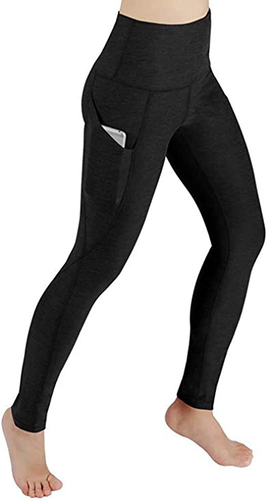 Womens Yoga Booty Shorts Blue Fire High Waist Compression Tights Slim Fit Stretch Fitness