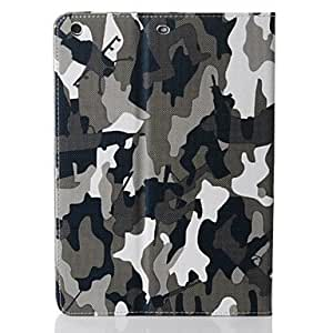HPT Fashion Camouflage Totem Dormancy PU Tablet Design Holster for iPad mini 2