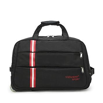WQING Travel Bag Holdall Hand Luggage Fin de Semana Bolso con Ruedas para Mujeres y Hombres: Amazon.es: Deportes y aire libre