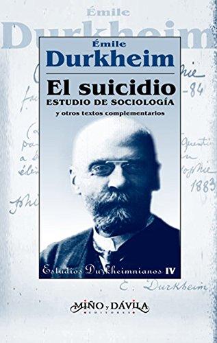 Emile Durkheim O Suicidio Pdf