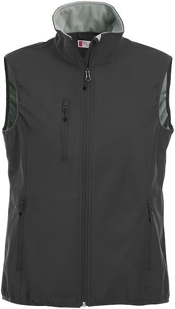 8 Colours-XS-2XL Microfleece Lined Waterproof 3000mm Zipped Pockets CqC Ladies Softshell Gilet