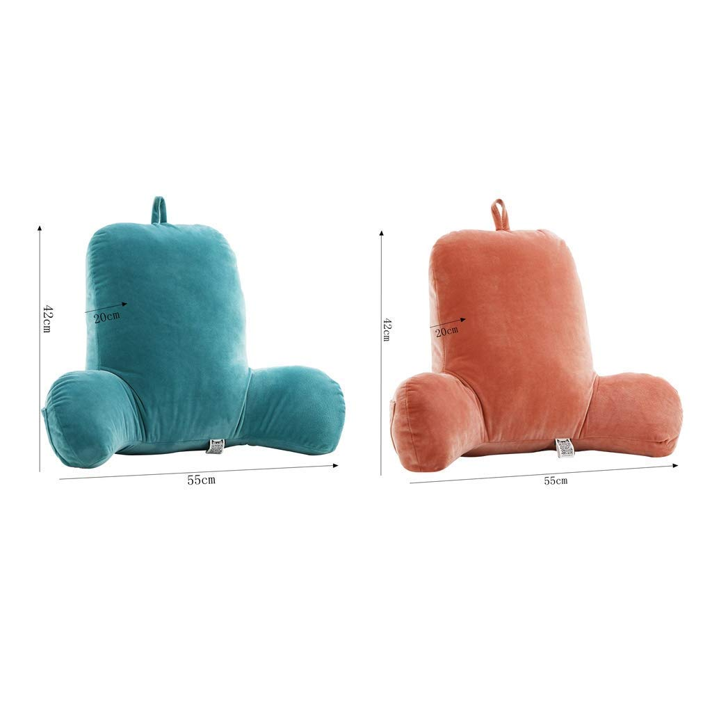Bear, XL Head Waist Support Pillow for Pregnant Women Mystery/&Melody Reading Pillow Firm Back Support /& Comfy Cushion for Bed//Sofa//Couch//TV