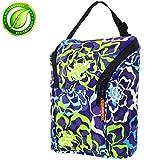 Baby Bottle Cooler Bottle Cooler Bag, Insulated Cooler Tote Keep Breast Milk Cold or Warm for Women,Men, and Kids (Blue)