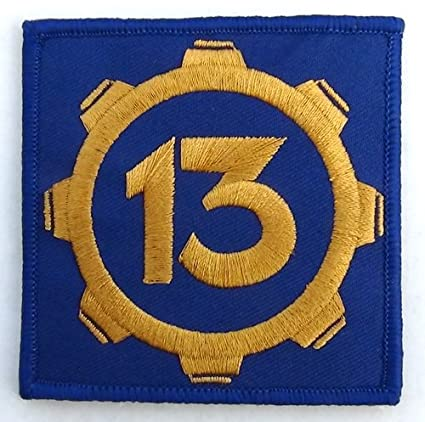 Amazon.com  Vault 13 Fallout Style Patch Cosplay 3