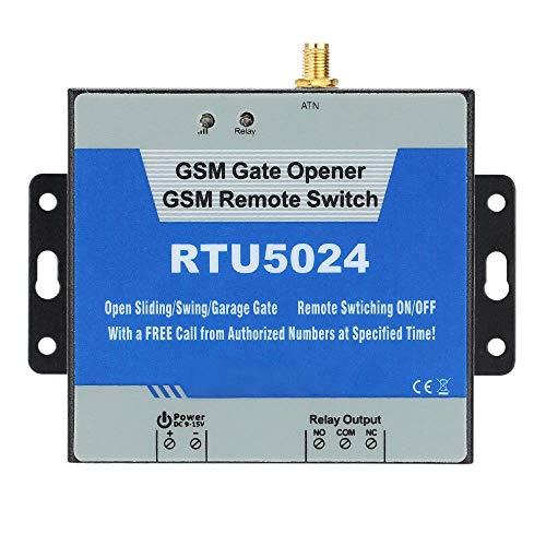 Onefa Wireless Remote Control On/Off,RTU5024 GSM Door Gate Opener Wireless Remote Control On/Off Switch Free Call SMS (Wine) ()