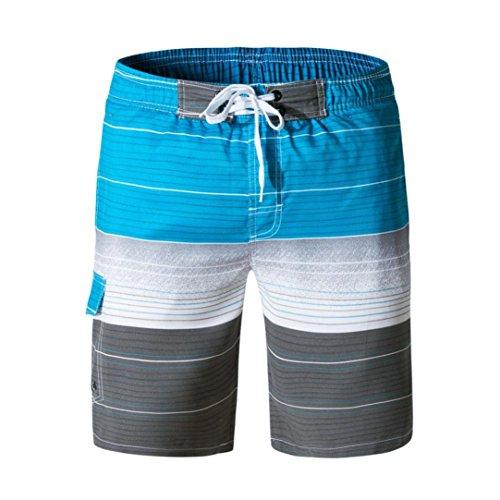 Xchenda Men's Shorts Clearance! Swim Trunks Quick Dry Beach