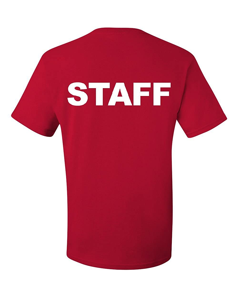 Staff T-Shirt Event Staff Uniform Employee Party Security Tee Shirt 100830-T