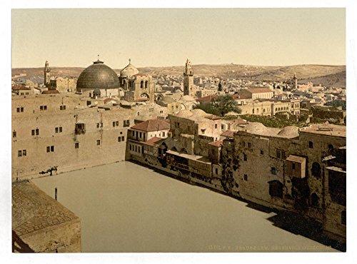 Historic Photos The Pool of Hezekiah, Jerusalem, Holy Land by Historic Photos