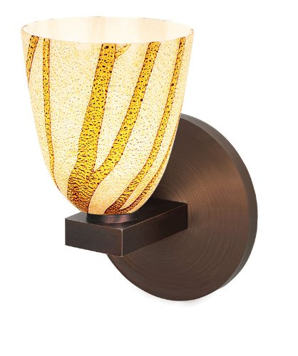 Access Lighting 23208-BRZ/LAV Safari Wall Lamp