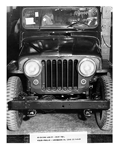 1952 Willys Overland Jeep CJ3B Factory Photo