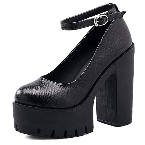 scarpe sportive 00f15 66689 Piattaforma con Tacchi Alti da Donna, Décolleté con Zeppa e Scarpe ...