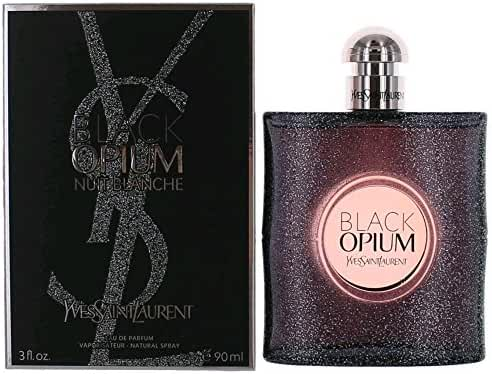 Yves Saint Laurent Black Opium Nuit Blanche Eau De Parfum Spray, 3 Ounce