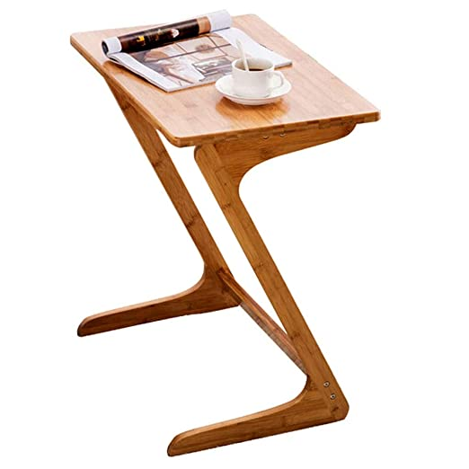 Mesa de esquina Mesa de salón de computadora de madera maciza ...