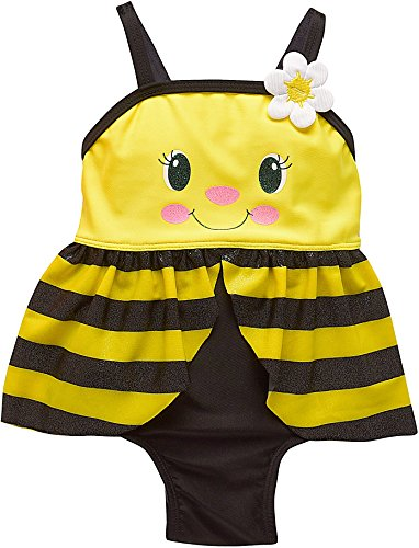 Candlesticks Baby Girls Bumble Bee Swimsuit 18 Months Yellow (Bumblebee Suit)