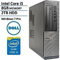 Fast Optiplex 390 Business Desktop Computer Tower PC (Intel Core i5-2400, 8GB Ram, 2 TB HDD, HDMI, WIFI, DVD-RW) Win 7 Pro - 64 Bit (Certified Refurbished)