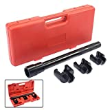 Inner Tie Rod Removal Installation Tool Set Mechanics Kit Dual Tie Rod Tools Durable Steel Construction Comes With Toolbox For Storage by Costway