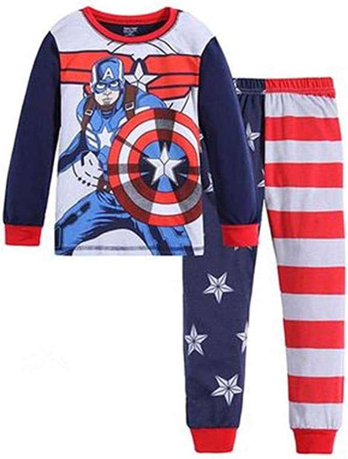 4 Details about  /Spiderman Boys Pajama Set Button Front Long Sleeve Top /& Long Pants  size