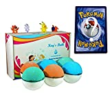 Pokemon Bath Bombs for Kids with Surprise Toy