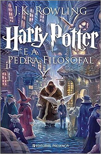 Harry Potter e a Pedra Filosofal: Amazon.es: Rowling, J. K. ...