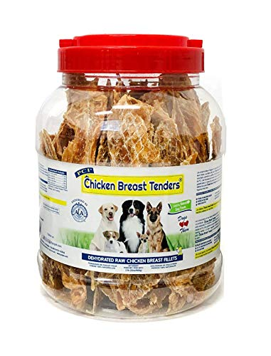 - Pet Center Dpc88032 Chicken Breast Tenders Dog Treat, 32-Ounce