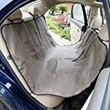 Heavy Duty Waterproof Pet Dog Car Hammock Back Seat Cover Mat Coffee For Sale