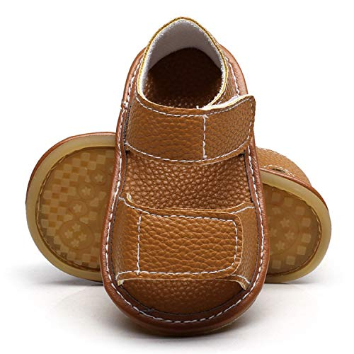 Balalei 0-24Months Summer Shoes Toddler Boy Soft PU Leather Sandals Infant Baby Boys Summer Soft Sole Beach Sandals,C,2