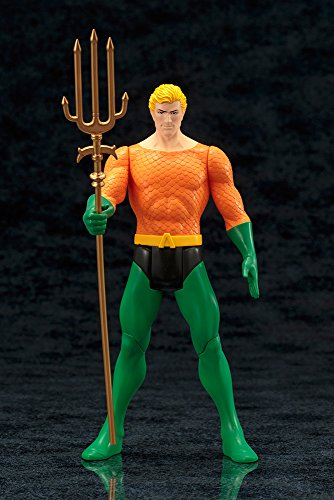 All Grown Up Toys : Aquaman super powers collection artfx statue import it all