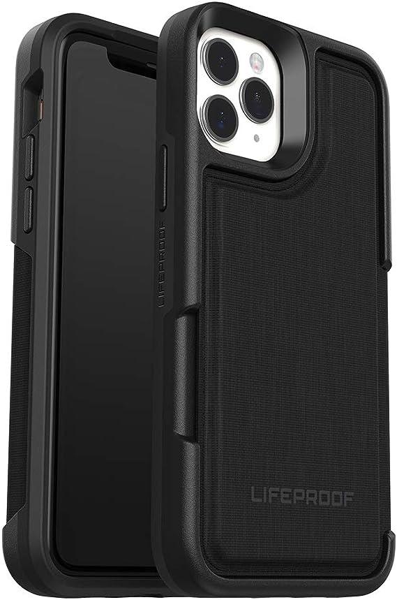Lifeproof Flip Verstärkte Schutzhülle Mit Steckplatz Für 2 Kredit Oder Scheckkarten Für Iphone 11 Pro Schwarz Elektronik
