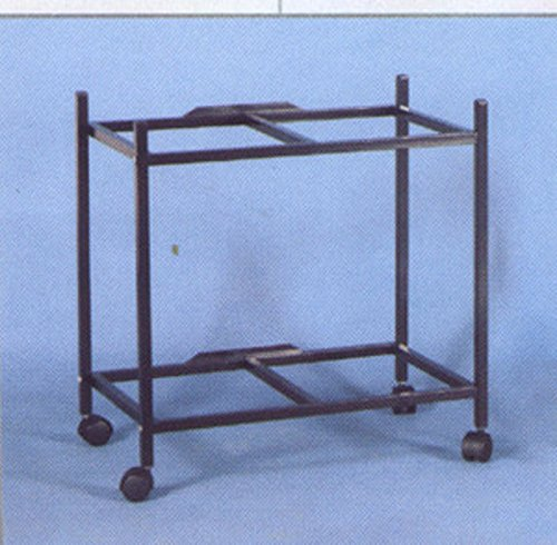 2-Shelf Stand for two of 30'' x 18'' x 18 Breeding Flight Cages, Black by Mcage