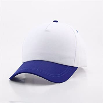 fe19988e9c4 OSISDFWA Blank Cap Simple Blank Cap 5 Piece Baseball Cap Baseball Caps   Amazon.co.uk  Sports   Outdoors