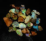 dadu_creation AMAZING SALE 100% NATURAL PLAY OF COLOR MULTI FLASHING ETHIOPIAN OPAL ROUGH LOT