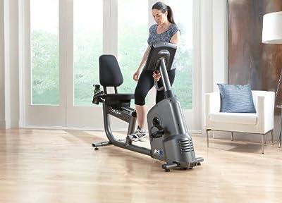 Life Fitness RS1 Go Recumbent Lifecycle Exercise Bikes