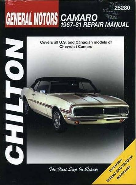 chevrolet camaro, 1967-81 (chilton total car care series manuals): chilton:  9780801990588: amazon.com: books  amazon.com