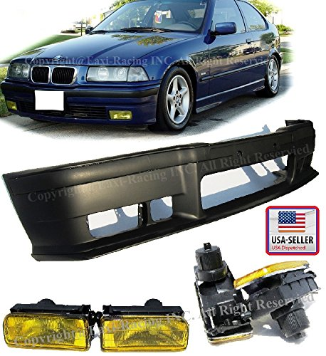1992-1998 BMW E36 3-Series M3 Style Front Bumper Cover