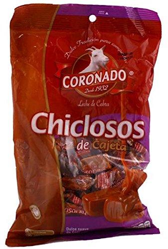 Chiclosos de Cajeta Goat Milk Caramel Candy Coronado 8.92 Oz