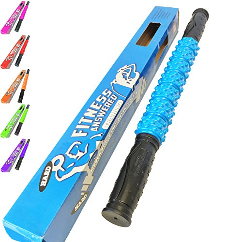 The Muscle Stick Elite Hard Massage Roller - Blue