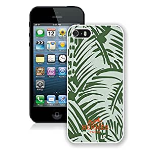 Fashionable And Beautiful Designed Case For iPhone 5 With Hermes 18 White Phone Case