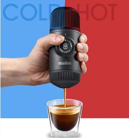 Cafetera de cápsula Máquina de espresso de compresión manual ...