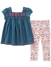 Set de ropa para niña Calvin Klein