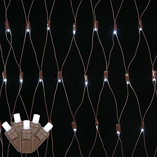 Pure White Led Net Christmas Lights in Florida - 6