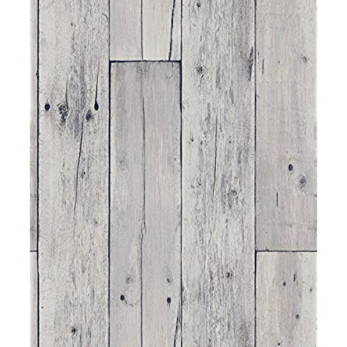 Blooming Wall Faux Wooden Planks Wood Panel Wallpaper Mural208 In328 Ft57 Sq Ft8e022