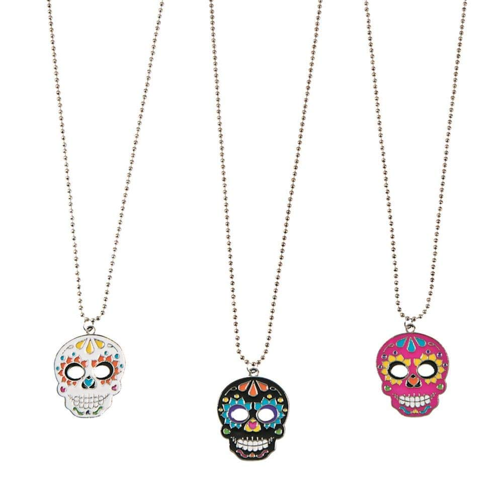Day of the Dead Necklaces by Fun Express