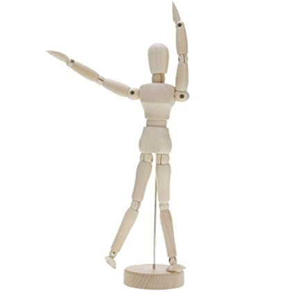 Huayang Mannequin En Bois Modele De Figure Humaine Dessin D Artiste