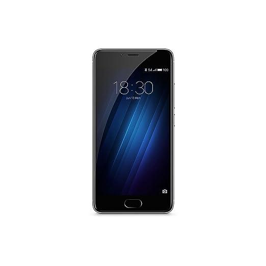 121 opinioni per Meizu M3S Smartphone, Dual-SIM, 16 GB, Grigio